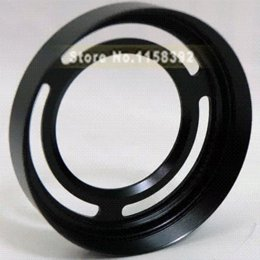 Wholesale LH X10 Metal Lens Hood with mm Filter Adapter Ring Lens cap for Fujifilm X10 X20 LH X10 With Tracking Number