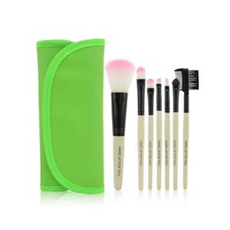 Low-cost US Kafu gifted wallet 7 brush sets makeup 9 color options suitable for all skin types