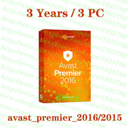 Wholesale Avast Premier software key License about Years PC full working