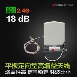 Панель направленной антенны Онлайн-18дБ 2.4G аудио и видео передачи с плоской панелью направленная антенна