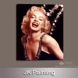 Cheap Home Decor Canvas Pictures Print on Canvas of Marilyn Monroe Wall Art Painting Picture for Home Wholesaler -- Wall Hanging