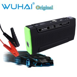 Wholesale Original WUHAI mAh Portable Car Jump Starter cars battery Charger for Electronics Mobile Device Laptop Auto Engine Emergency Battery