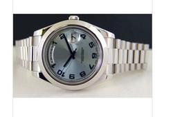 Luxury WATCHES Platinum Glacier Blue Arabic 218206 - WATCH CHEST Man Wristwatch Automatic Fashion Brand Men's Watch Wristwatch
