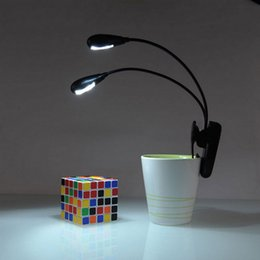 Wholesale Amazing Adjustable Goosenecks Clip on LED Lamp for Music Stand and Book Reading Light