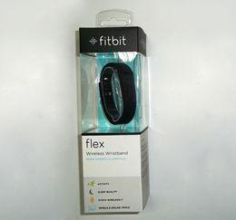 Promotion activité smartband tracker Fitbit Flex Wristband Activité sans fil Sleep Sports fitness Tracker smartband pour IOS Android smartwatch bracelet 1pc DHL