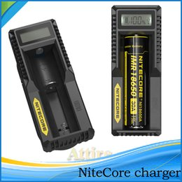 Wholesale Original Nitecore D4 i2 i4 UM10 UM20 UGP3 Universal Intellicharger Charger for Battery E Cigarette Charger