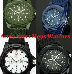 Descuento reloj del ejército suizo deporte militar Gemius EJÉRCITO ver la moda del reloj de moda de los deportes para hombre relojes de estilo militar Reloj SWISS ARMY Lujo relojes analógicos de cuarzo