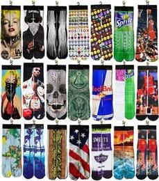 Wholesale 2016 Fashion D printed odd future basketball skate sports socks summer style towel bottom candy color happy socks men s brand socks