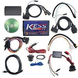 Wholesale Newest Firmware V4 V2 KESS V2 Master Version no Token limited KESS V2 v2 OBD2 Manager Tuning Kit via DHL