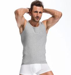 Wholesale Men s Boys Tank Top Undershirt Best Under Shirts Sleeveless T Shirt Tank Tops Sleeveless thick vest Men s soft active Underwear