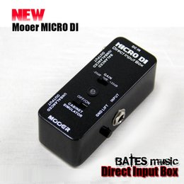 Wholesale NEW Effect Pedal MOOER MICRO DI Direct Input Box