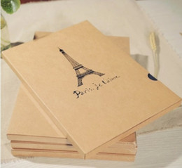 Wholesale vintage Antique DIY PHOTO ALBUM Scrapbook with corner stickers Paper Crafts gift baby wedd