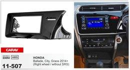 CARAV 11-507 Top Quality Radio Fascia for HONDA City, Ballade, Grace (Right Wheel) Stereo Fascia Dash CD Trim Installation Kit