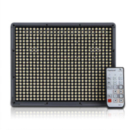 Wholesale Aputure Amaran HR672C LED Video Light CRI95 with wireless Remote and battery for DSLR Camera Free Fedex shipping HR672C