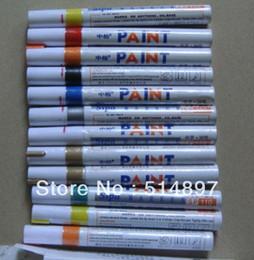 Wholesale Car Motorcycle Tyre Tire Tread Marker Paint Pen waterproof oil maker pen