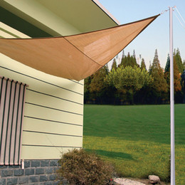 Wholesale Top UV Protect Outdoor Shade Nets Canopy Patio Lawn Cover Size M M M Shade Sails Nets Good Quality Shade Net on Discount