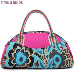 Wholesale-FLYING BIRDS! women bags women handbag canvas bags shoulder bag bolsos shell style high quality handbags travel bag LS8133fb
