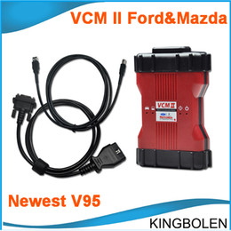 Wholesale 2015 Newest V95 VCM II IDS Multilanguage Ford Mazda Diagnostic tool OBD II Diagnostic Tool VCM2 VCM easy to install DHL