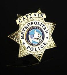 Wholesale The Las Vegas police inspector badges badges LAS VEGAS copper