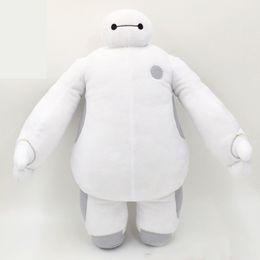 12inch al por menor de 30 cm 12 '' Super Marines Big Hero 6 Baymax de color blanco y Robot Los animales de peluche niños de las muñecas regalos de Navidad desde superhéroes juguetes de peluche fabricantes