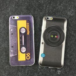 Wholesale Special Design iphone S Cases Nokia Calculator Camera Gamepad Sneakers Soft TPU Back Cover Case for iphone S plus plus S