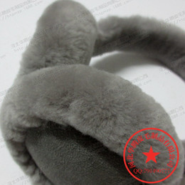 Wholesale Famous fashion perennial supply of Australian wool earmuffs warm earmuffs ear ear cover their ears warm hat