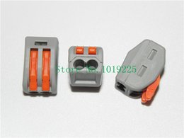 Wholesale pieces WAGO Universal Compact Wire Wiring Connector pin Conductor Terminal Block With Lever AWG