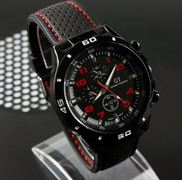 Wholesale Sale F1 Racing Men Sports Watches Luxury Brand Grand Touring GT Silicone Men Quartz Military Watch