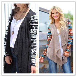 2015 Hot sale women Full Sleeve New Fashion Women open Stitch Crochet Knit Hand Knitted Coat CA91