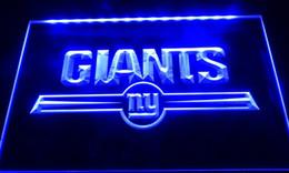 LS037-b york giants bar logo neon light signs