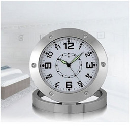 Spy Nanny Clock Cam 640*480 VGA Hidden Bathroom Camera Motion Detection Mini DVR Voice Recorder Video Camcorder Micro Camara