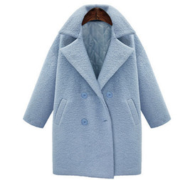 Blue Wool Coats - Coat Nj