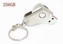 Wholesale 2015 USB GB Key Chain Stainless Steel Metal Keyring Swivel USB Flash Drives Memory Stick U Disk