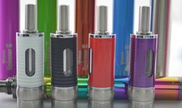 Wholesale iTank spin II airflow control atomizer dual coils rebuildable clearomizer mm fit ego Evod vision II ismile USB Passthrough MOW RBA Tank