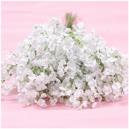Wholesale Fashion Gypsophila Baby s Breath Artificial Fake Silk Flowers Plant Home Wedding Decoration Party