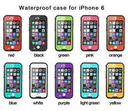 Wholesale Redpepper Waterproof Case For Iphone Plus Shockproof Snowproof Hard PC TPU Back Cover fingerprint Retail Package factory sale