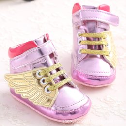 Baby Gilrs Pink PU Leather Shoes Newborn Infant Toddler Soft Leather Lace Up Sports Shoes Indoor Shoe Baby Footwear