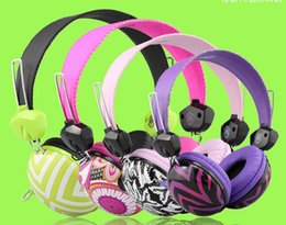 Wholesale Headphone GL BH010 Soft Earmuff Stereo Sound mm Metal Audio Plug M Cable for cell Phone PC Watching A Movie