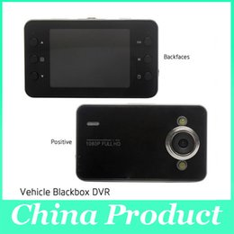 Wholesale In stock inch K6000 HD P Digital G sensor Night Vision PAL NTSC LTPS LCD Mini Car DVR Vehicle Video Camera Recorder MP Camera