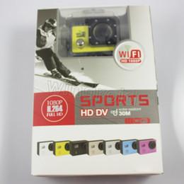 "Las mini cámaras digitales en venta-30M impermeabilizan la cámara de la acción de la cámara SJ6000 1080P HD que se zambulle 1080P HDMI 2.0 ""170 ° WIFI mini DV DVR videocámaras digitales 10pcs DHL"