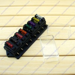 Wholesale 8 Way Standard Blade Fuse Box Holder Car Truck RV Camper Van Boat Marine V V