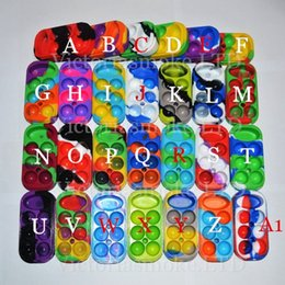 Wholesale 27 Colors Factory Price Colorful Wax Containers big Silicone jars container silicone contianer for wax silicone jars dab wax container