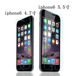 For iPhone 4 4S 5 5S 6 6p Explosion Proof Guard Tempered Glass Screen Protector Mobile Tempered glass film Apple 5G 6G 6p