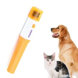Wholesale High quality 1pcs Pet Dog Cat Nail Grooming Grinder Trimmer Clipper Electric Nail File Kit YKS