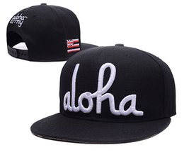 Wholesale 6 styles aloha army Snapback hats British flag women men outdoor casual cotton sunhat travel touca baseball caps