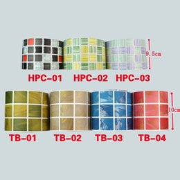 Wholesale ome Decor Wall Sticker M PVC Waist line wall sticker bathroom kitchen waterproof wall borders mosaic tile Vinyl plastic Self Adhesive Wa