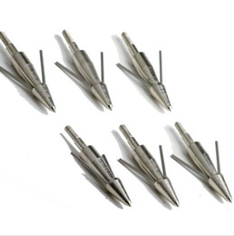 Classical bow fishing arrowhead broadhead hunter hunting fishing broadhead nickled plated 6 pcs lot free shipping