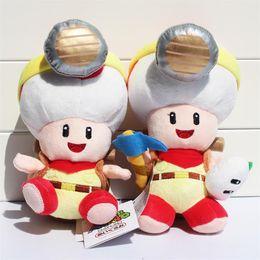 Captain Toad Plush Toys New 2015 Super Mario Treasure Tracker Stuffed Plush Dolls With Tag 22cm Retail