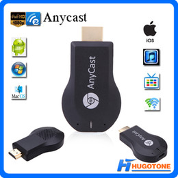 2017 androide dlna palo de televisión Media HDMI HD 1080P TV Stick Anycast WiFi Receptor de pantalla DONGLE CROMO AnyCAST DLNA Airplay Airmirror para Windows ios andriod TV Stick