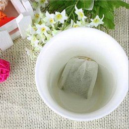Empty Teabags String Heat Seal Filter Paper Herb Loose Tea Bags Teabag Filter paper, Herb bags 500pcs